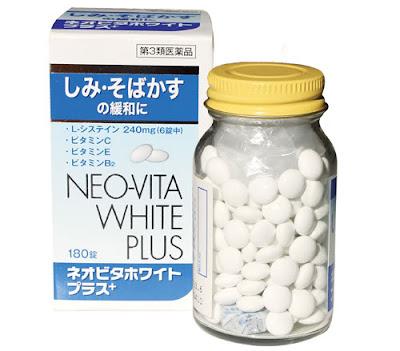 Viên uống trắng da neo vita white plus trị nám hiệu quả