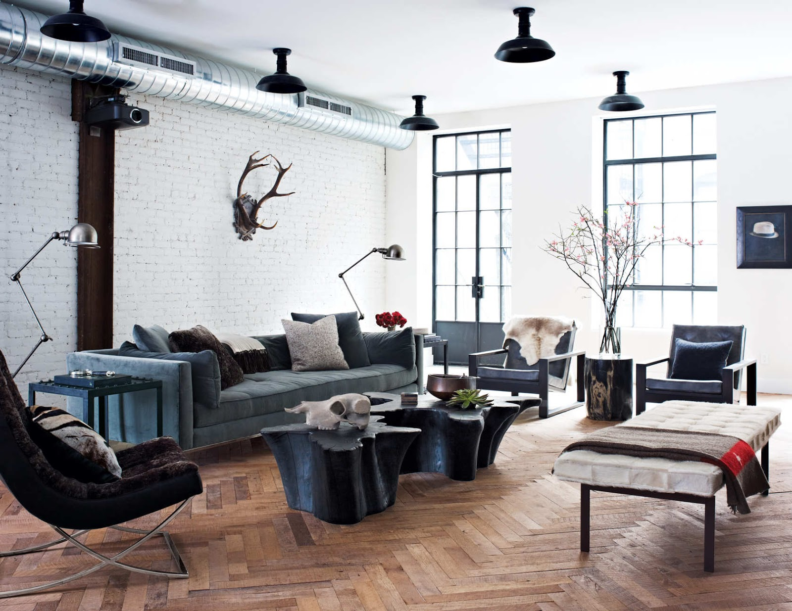Le Dialogue Interieur Hal Stone Le Blog Mademoiselle Bachelor Pad In Noho