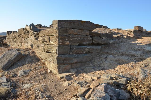 Η ανασκαφή στην αρχαία πόλη της Κύθνου