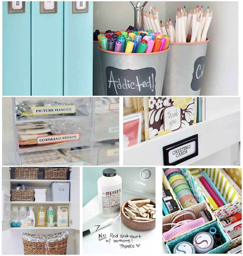 Organizing & Cleaning Tips From The I Heart Organizing