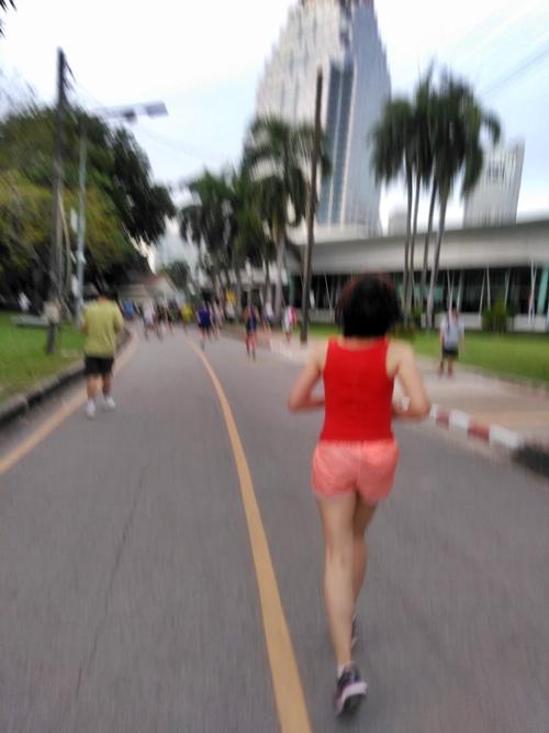 バンコク 旅ラン ルンピニー公園 2018