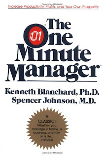 The One Minute Manager, Kenneth Blanchard and Spencer Johnson