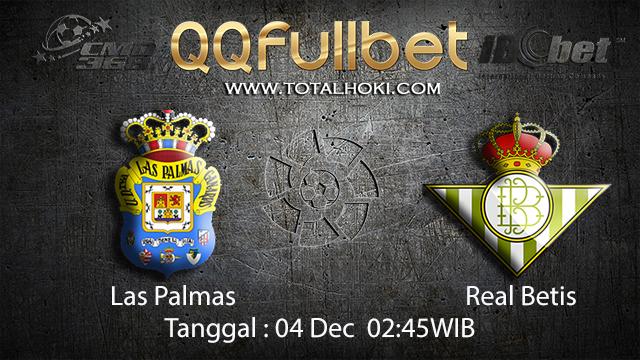PREDIKSI BOLA ~ PREDIKSI TARUHAN BOLA LAS PAMAS VS REAL BETIS 04 DESEMBER 2017 (Spanish La Liga)