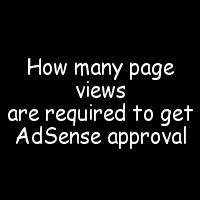 AdSense approval requirement