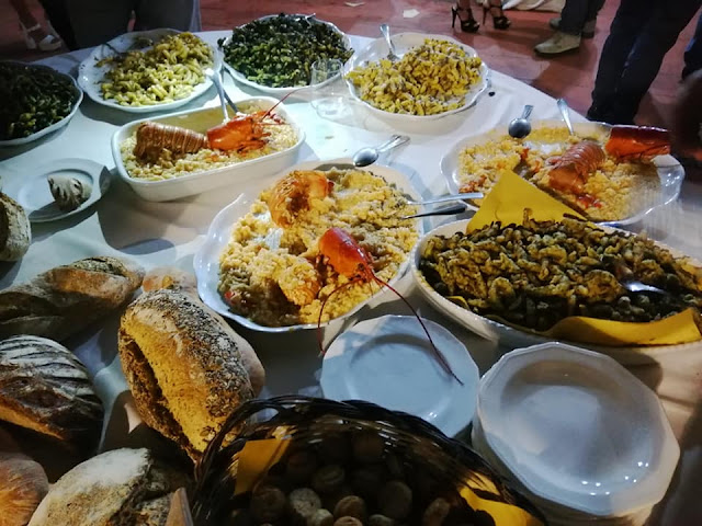 primi piatti al buffet ad acitrezza