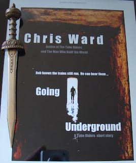 Portada del libro Going Underground, de Chris Ward