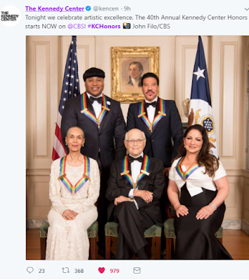 @kencenter The Kennedy Center Honors #KCHonors 2017 All Nominees