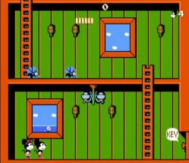 لعبة ميكي ماوس اتارى Mickey Mouse - منصة تجربة