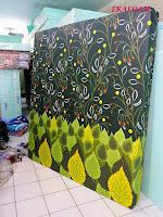 Kasur busa inoac tangerang 2017 motif sarung gambar bunga ijo daun