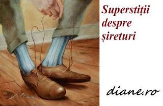 Superstiții despre șireturi