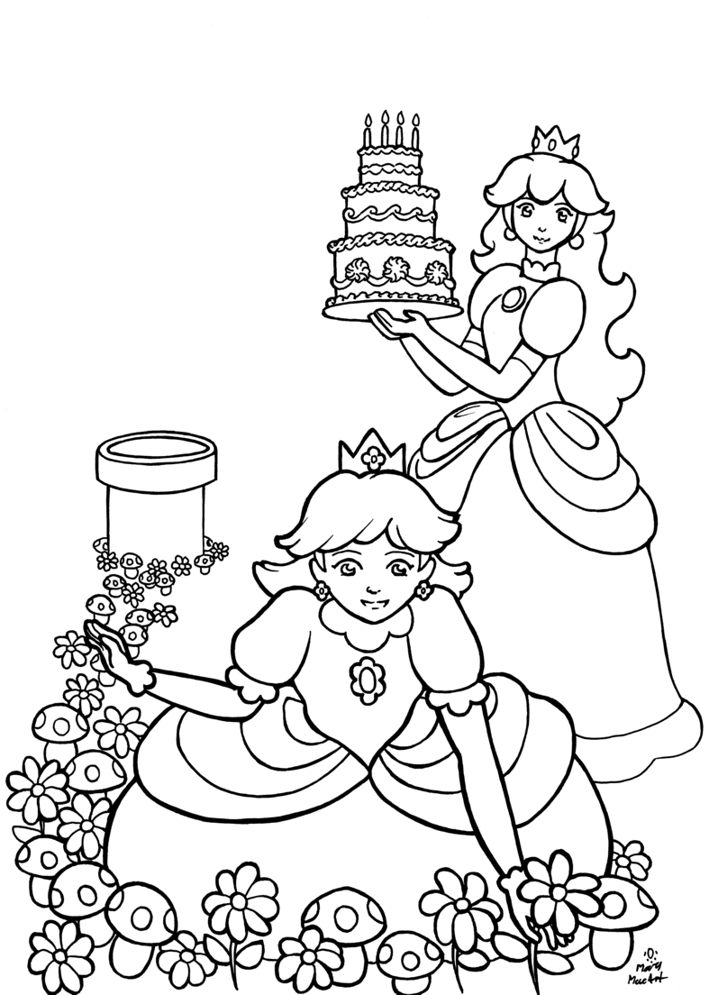 Snowflake Clockwork: Some non-saint coloring pages