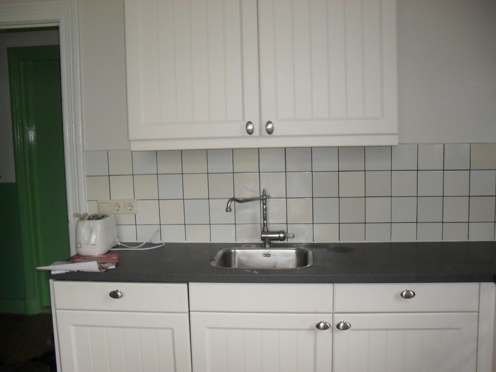 Uitzonderlijk Toch maar tegels als keukenachterwand - Huisvlijt #CG74