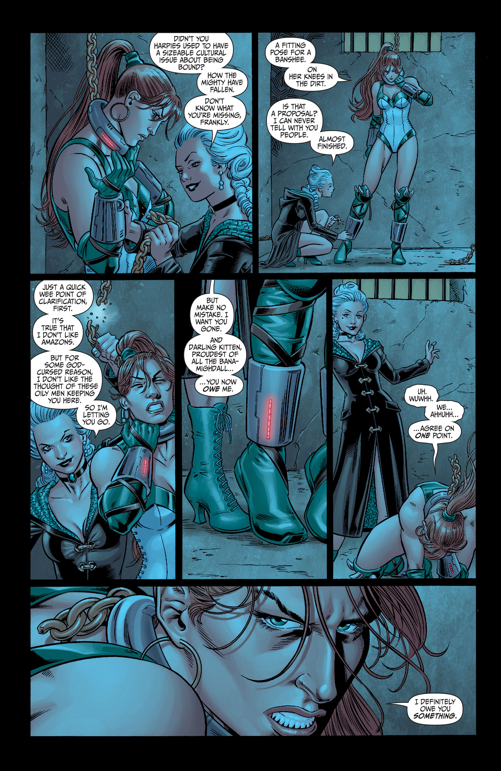 Read online Secret Six (2008) comic -  Issue #11 - 18