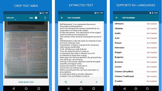 Top 5 Best OCR Text Scanner Apps For Android
