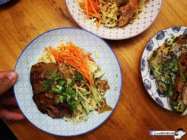 IMG 2559 - 【新竹美食】北門室食 NO.40 BEIMEN ,穿梭在老舊以及新穎間的文青涼麵店,除了涼麵之外煎餅菓子也是傳統好滋味!!