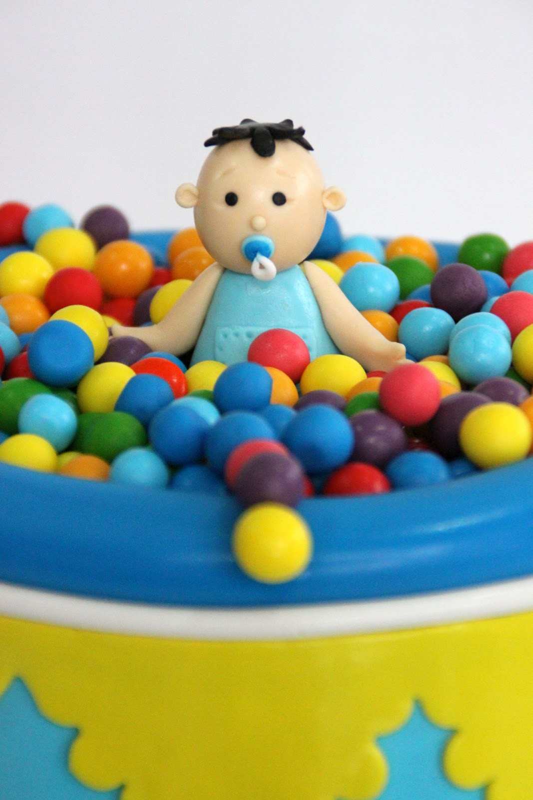 Baby In Ball Pit Cake