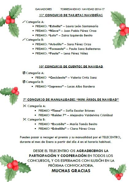 ludoteca, navidad, concursos, ganadores, telecentro, torresandino