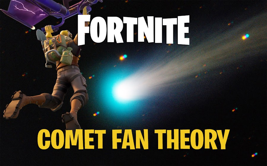 fortnite comet theory