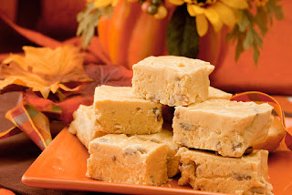 sweet treat supply - thanksgiving dessert ideas - pumpkin fudge