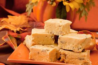 sweet treat supply - thanksgiving dessert ideas - pumpkin fudge