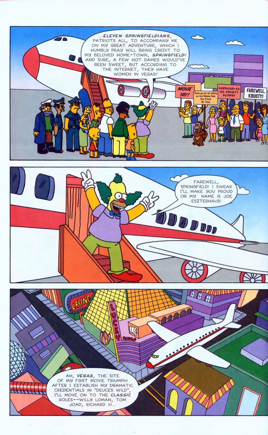 Read online Simpsons Comics comic -  Issue #50 - 47