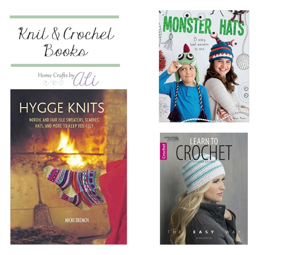 Hygge knit projects monster knit hats and beginner crochet books