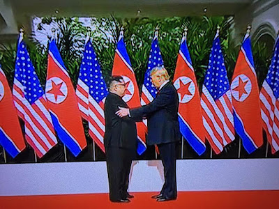 31d78a318f3 ICHEOKU says the mother of all summit between President Donald John Trump  and North Korea s Kim Jung Un held as planned and it was successful