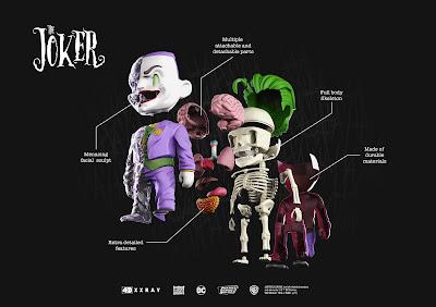 The Joker 4D XXRAY Dissected Vinyl Figure by Jason Freeny x Mighty Jaxx x DC Comics
