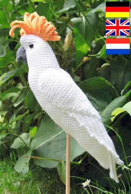 amigurumi Parrot Crochet pattern