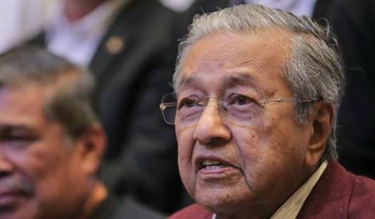 Tiada Derma Boleh Diterima Parti Dan Media Bebas Melaporkan Berita - Tun Mahathir