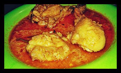 korma chicken fricassee curry recipe