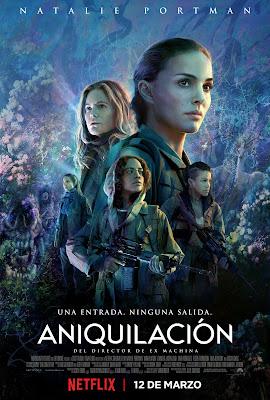 aniquilación poster - netflix