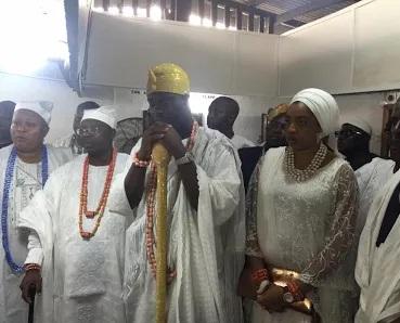 The Ojaja II, Ooni Of Ife, Oba Adeyeye