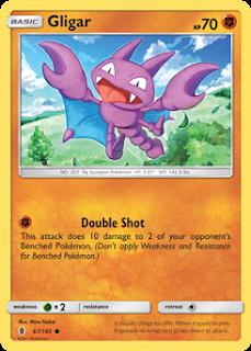Gligar Guardians Rising Pokemon Card