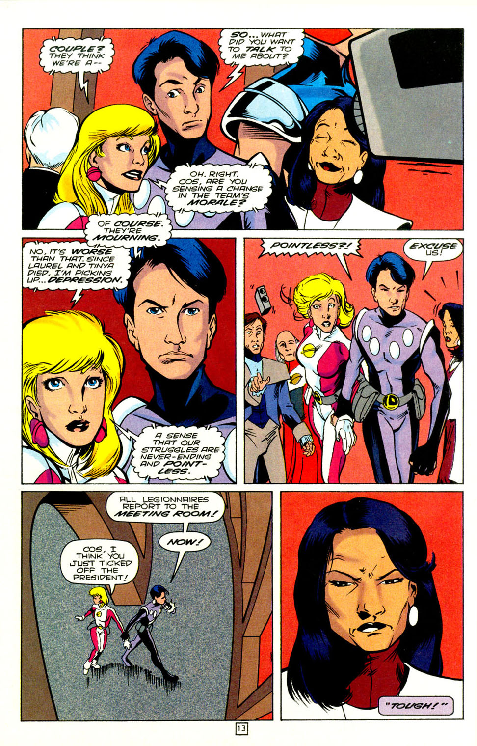 Legion of Super-Heroes (1989) 72 Page 14