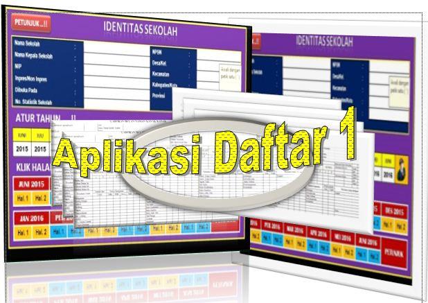 Download Aplikasi Laporan Bulan Untuk Semua Jenjang, SD, SMP, SMA/SMK Terbaru