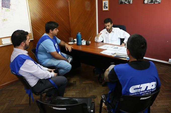 La juventud de la CTAA Tucumán presentó un documento sobre el flagelo del paco en la Sec. de Adicciones