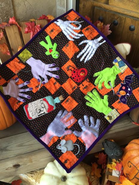 Quilts Halloween Haunts Hop