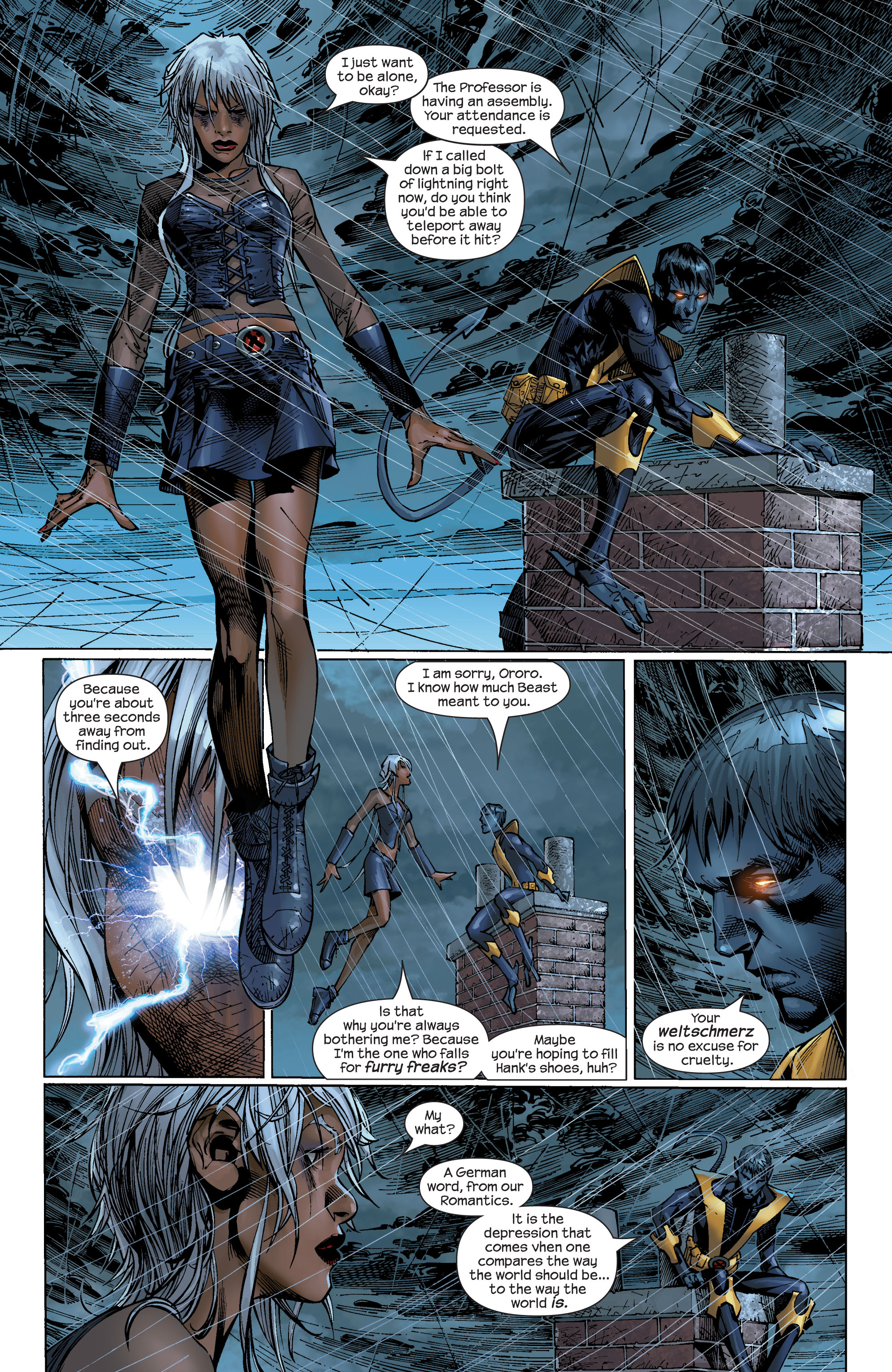 Read online Ultimate X-Men comic -  Issue #47 - 18