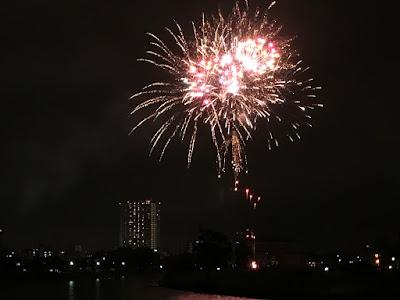 越谷花火大会開催
