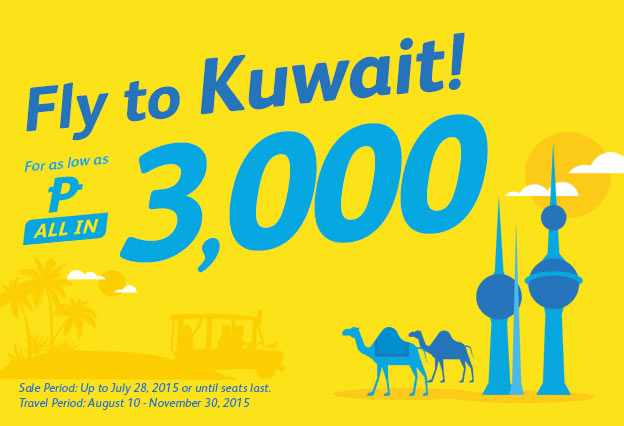 Cebu Pacific Promo Ticket Kuwait