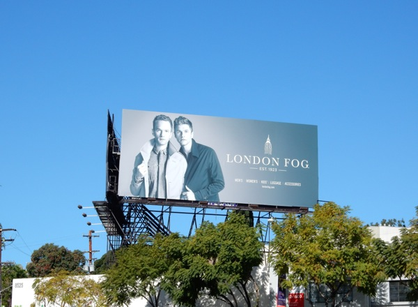 London Fog Spring 2015 billboard