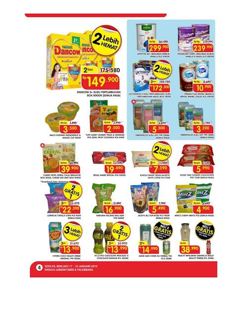 Katalog Super Hemat Super Indo Jabodetabek dan Palembang 17 Januari samapai 21 Januari 2019