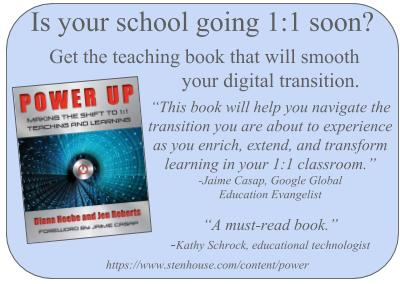 Power Up: Making the Shift to 1:1 Teaching and Learning