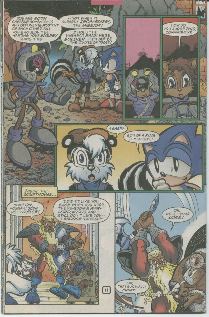 Read online Sonic The Hedgehog comic -  Issue #70 - 14