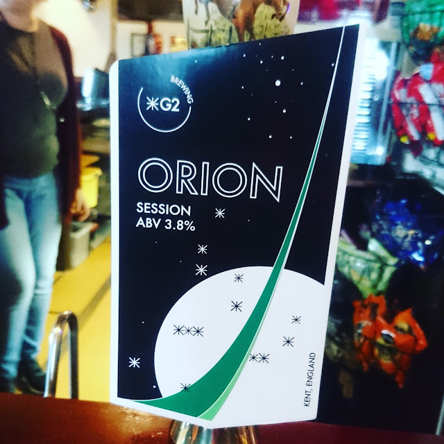 Kent Craft Beer Review: Orion from G2 Brewing