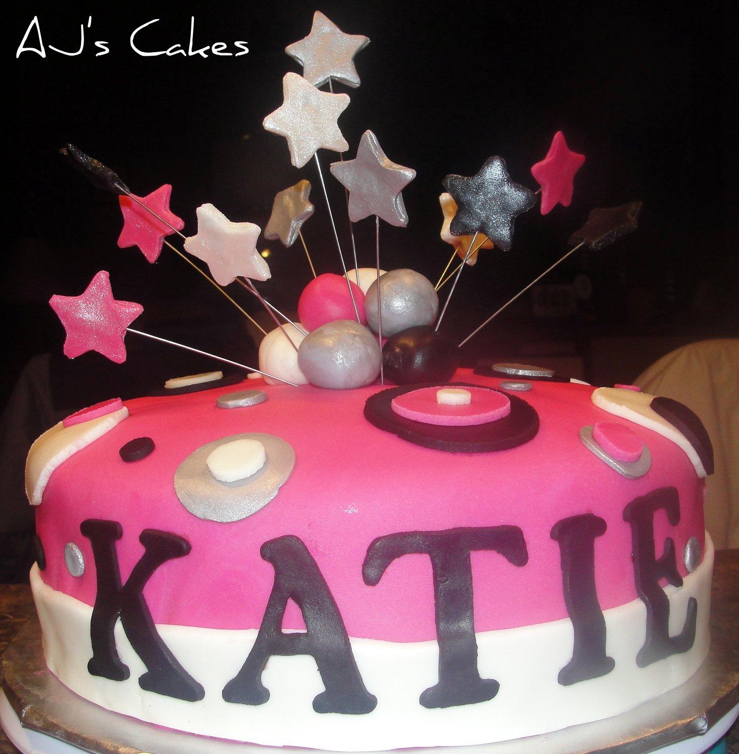 Aj S Cakes Katie S Birthday Cake