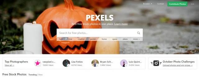 10 Situs Web Penyedia Gambar Gratis Terbaik Berkualitas Tinggi