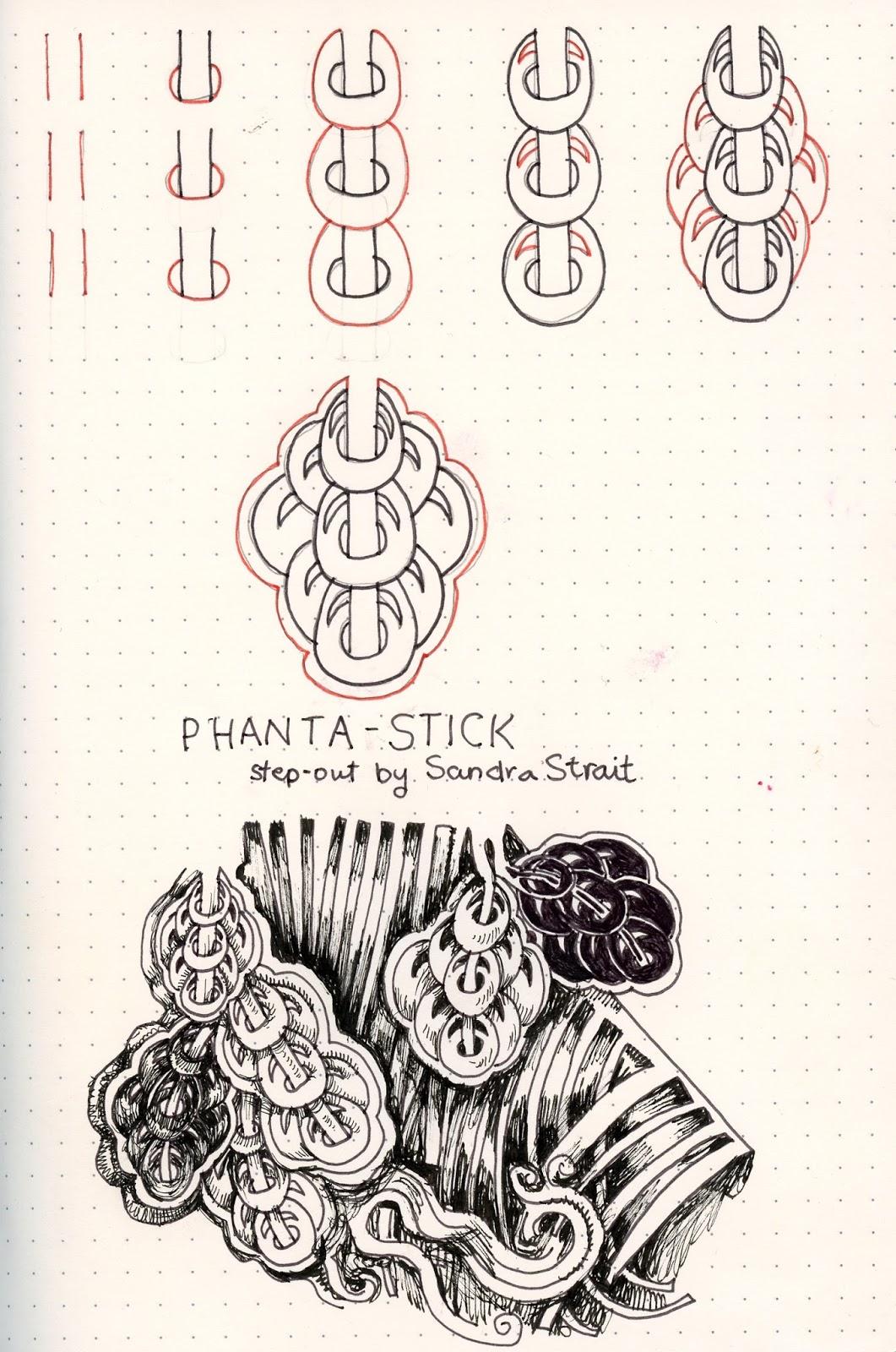 Tangle Patterns Custom Decorating Design