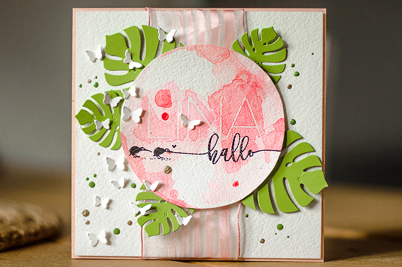 Stephanie Berger - Cardmaking - Aloha Geburt